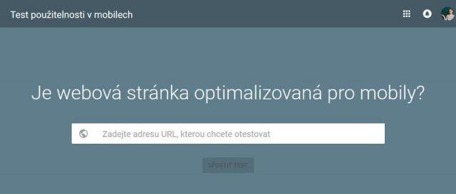 Test použitelnosti v mobilech