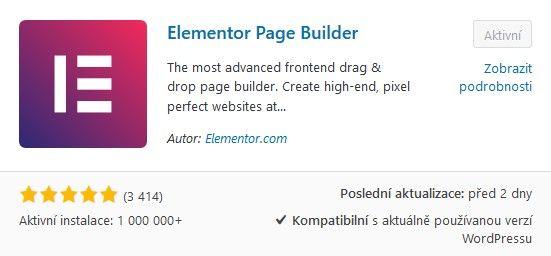 plugin Elementor