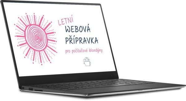 Letní webová přípravka pro počítačové blondýny