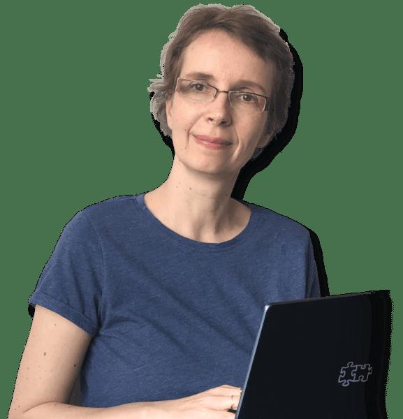 Ptera Vymětalová 1. lektorka pro počítačové blondýny