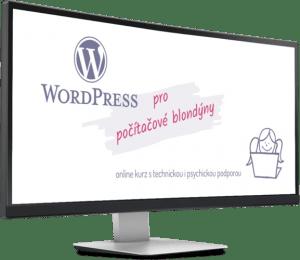 WordPress pro počítačové blondýny - online kurz